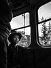 Mom (simonspisak) Tags: mom son boy child tram street streetphotography black white blackwhite face look