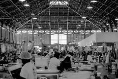 Inside of Mercado de São José (Geraldo Manoel Fotografia) Tags: recife street urban urbanphotography urbanexploration urbanstreet streetphotography pretoebranco preto e branco monochrome bq bw pb people person pessoas man woman nikon nikor 50mm nikonlens nikond3200