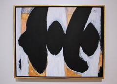 Untitled (Elegy), by Robert Motherwell (JB by the Sea) Tags: paloalto stanforduniversity stanford california november2017 cantorcenterforvisualarts painting robertmotherwell