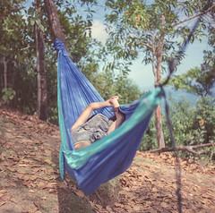 Naptime, 2018 (Sly Panda) Tags: sly panda 120 film camera yashica hammock tickettothemoon chill lang