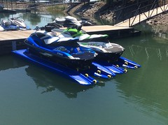 Hydroport Extreme Blue Jet Ski Lifts
