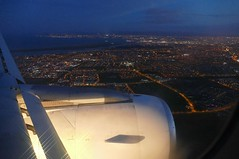 Landeanflug Dublin