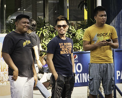 Looking Cool (Beegee49) Tags: three men cool dudes guys bacolod city philippines