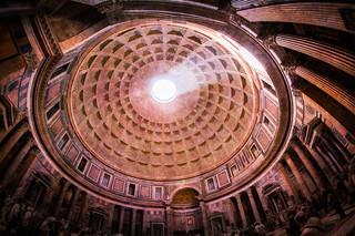 Pantheon Rotunda - Textured