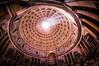 Pantheon Rotunda - Textured (byron bauer) Tags: byronbauer pantheon rotunda oculus rome interior dome sunlight rays texture painterly temple roman church italy hadrian coffered concrete sky santamariarotunda