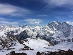Good view on Donguzorun from Elbrus (timoshenko.michael) Tags: nofilter iphone caucasus russia mountains