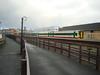 W&B 158 Photoshop - Aberystwyth (Rhydgaled) Tags: arrivatrainswales sprinter photoshop fictional fictitiousliveries wales class158 aberystwyth railway station train expresssprinter alphaline