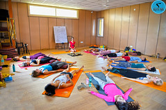 Sacred Sound Healing (AYM Yoga School India) Tags: yoga healing singingbowl buddha yogahall yogastudio yogateacher yogatraining india rishikesh yogi yogini people training love peace joy happy inspiration ytt aymyogaschool ryt200 ryt300