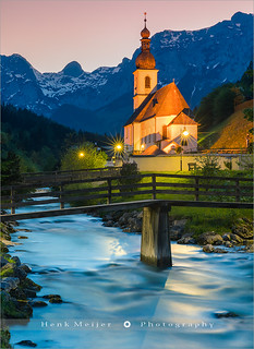 St Sebastian Church - Ramsau - Germany