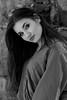 Midday shadows (piotr_szymanek) Tags: marcelina marcelinab portrait woman milf young skinny blackandwhite outdoor park face eyesoncamera longhair closeup 1k 20f 50f 5k 100f 10k