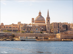 Valletta: View from the Goza & Comino Tour Boat. (Jon Fitton) Tags: valletta malta lightroom tassliema mt