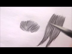 Como Desenhar Cabelos Aula 05 do Curso Básico de Desenho Artístico Grátis (portalminas) Tags: como desenhar cabelos aula 05 do curso básico de desenho artístico grátis
