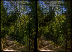Am Leubnitzbach, Dresden 3-D / CrossEye / Stereoscopy / HDRaw (Stereotron) Tags: saxony sachsen dresden elbflorenz leubnitzneuostra village dorfkern quietearth nature trees europe germany deutschland crosseye crossview xview pair freeview sidebyside sbs kreuzblick 3d 3dphoto 3dstereo 3rddimension spatial stereo stereo3d stereophoto stereophotography stereoscopic stereoscopy stereotron threedimensional stereoview stereophotomaker stereophotograph 3dpicture 3dimage twin canon eos 550d yongnuo radio transmitter remote control synchron kitlens 1855mm tonemapping hdr hdri raw