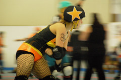025 (Bawdy Czech) Tags: roller derby lava city dolls lcrd basin bombers wftda flat track skate bend or oregon april 2018 lavacity rollerderby klamath falls spit fires darth maully