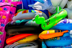 Inflatables (Kevin R Thornton) Tags: inflatables d90 nikon travel abstract almyrida greece crete mediterranean almirida creteregion gr