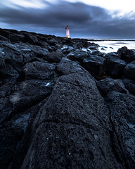 Overcast morning at Port Fairy (nathanmeade_) Tags: lighthouse moody sunrise clouds overcast portfairy pentax pentaxian ricohimaging kicapture pentaxk1