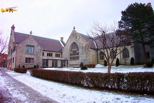 Buffalo New York ~ Unitarian Universalist Church of Buffalo ~   Exterior  Historical