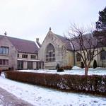 Buffalo New York ~ Unitarian Universalist Church of Buffalo ~   Exterior  Historical thumbnail