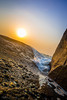 Sunset and a rocky beachside (The Dream Chaser) Tags: beach sunset beachside evening nature wave rock beautiful bliss love energy walk