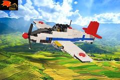 Kawasaki Ki-61 Hien (Eínon) Tags: hien kawasaki japan ww2 world war two lego