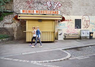 Spazieren in Wien
