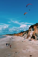 Day at the beach (_matt.is) Tags: beach canon canoneos canon700d 1855 1855mm summer landscape parapente sport sun sunny