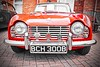 1964 Triumph TR 4. (Cycling Saint) Tags: cars colourselect sthelens nikond600nikkor1635f4vr merseyside