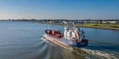 Nordic Marianne (Peet de Rouw) Tags: tanker ship scheepvaart nieuwewaterweg aerial portofrotterdam drone djimavicproplatinum holland netherlands