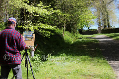 Portrait of an Artist (Ken Meegan) Tags: portraitofanartist tinternabbey saltmills cowexford ireland artist forest 652018