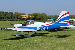 G-CHTI (GH@BHD) Tags: gchti vans rv rv12 pophamairfield popham pophammicrolighttradefair2018 airliner aircraft aviation