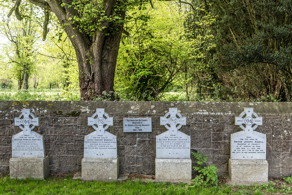 ST. PATRICK'S COLLEGE CEMETERY IN MAYNOOTH [SONY A7RIII IN CROP SENSOR MODE]-139536