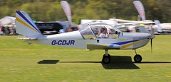 Evektor EV-97 EuroStar G-CDJR 5th May Popham Microlight Trade Fair 2018 (SupaSmokey) Tags: evektor ev97 eurostar gcdjr 5th may popham microlight trade fair 2018