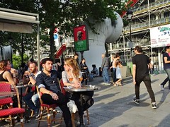 2018-05-09   Paris - Le Parvis - 109 Rue Saint-Martin (P.K. - Paris) Tags: paris mai 2018 may people candid street café terrasse terrace