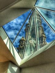 Triangulation (Harold Davis) Tags: santiago cathedral santiagodecompostela