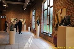 IMG_9414 (Patrick Williot) Tags: exposition vernissage ecuries sculpteur michal peintre genevieve nicolas