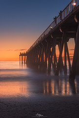 L-076-Sunset Hermosa Beach Pier (arq.alextoro) Tags: atardecer atardeceres beach landscape landscapes largaexposicion longexposure paisaje paisajes playa sea sunset twilight crepusculo ocaso pier seascape