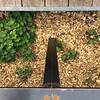 Leaves, Wood & Metal Melange (unclebobjim) Tags: lapiscine roubaix sculpturegarden leg steel galvanised decking inlaid vegetation greenery wood chippings horizontal vertical hexagonalheadedsetscrews square juxtaposition