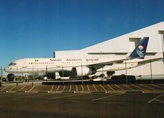 Saudi 757 (Gerry Rudman) Tags: southern california logistics airport victorville saudi arabian boeing 757200
