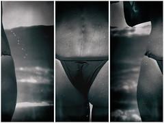 hossegor petit bikini face l' ocean (dudulandes) Tags: artistique aquitaine amateur ambiance beach beaute blanc bikini canon capbreton color esthetique exposition experience france hossegor dos maillot corps eau french insolite landes landaise labenne mer maree madera noir ocean original plage paysage seignosse sea soleil wave waves