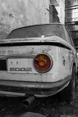 BmW 2002 (FERY Anthony Photographie) Tags: urbex voiture car garage pentax pentaxk3 sigma abandonned abandonne decay urban urbanexploration dark logo casse