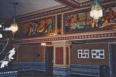 Altria Theater - Richmond Virginia - Former Shriners Mosque - Lounge Area (Onasill ~ Bill Badzo) Tags: onasill hdr photo vintage old ballroom murals minarets popular stage million 165 grill alley bowling swimming pool restaurant gymnasium members rooms hotel 42 lounges seats 4600 historic nrhp entertainment palace mystic shrine temple acca theater theatre landmark mosque venue monroepark america states united virginia va exterior richmond altria masonic masons shriners henricocounty