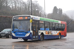 Stagecoach South Wales 28725 YN15KFP (Will Swain) Tags: pontypridd bus station 10th february 2018 south west cymru wales buses transport travel uk britain vehicle vehicles county country england english stagecoach 28725 yn15kfp