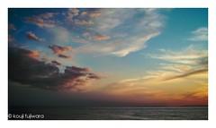 magic hour ## (kouji fujiwara) Tags: sigmadp2 sigma dp2 sea seascape magichour magic hour dusk sunset evening sky cloud seaofjapan 日本海