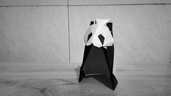 熊猫 (guangxu233) Tags: origami origamiart paper art paperart paperfolding hideokomatsu panda 折纸 折り紙 折り紙作品