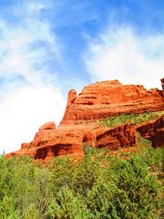 Sedona 29 (Cutting Monkey) Tags: sedona arizona rocks monument desert sky