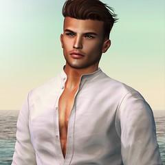 Quron (Aleriah.) Tags: sl second life secondlife portrait profile deadwool stealthic birth euphoric madpea mad pea virtual fashion men male