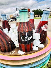 Roadside Cooler (TPorter2006) Tags: coke cocacola drink roadside cooler ice may 2018 texas nocona tporter2006