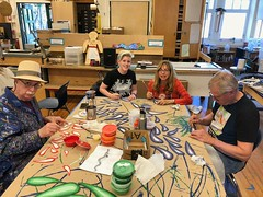 Creating the Art Float - Tam Makers - April 2018 - Photo - 41