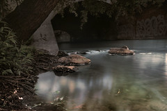 Panke (Isabelle Bommes) Tags: panke berlinwedding water flowing kanal