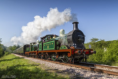 South East Chatham Double! (Nimbus20) Tags: bluebellrailway steam southereastern chatham doubleheader train sunshine power bark trees grass hill sussex england best